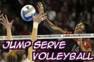 Jump Serve Volleyball